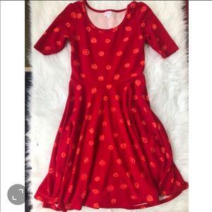 Lularoe Dotted Dress